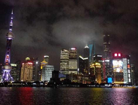 Ein unvergesslicher Anblick: die Skyline von Shanghai