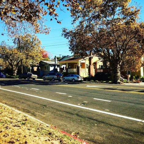 Haus und Straße in Berkeley