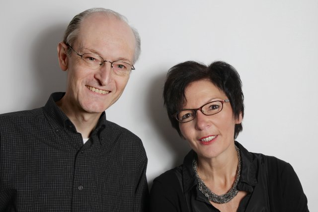 """Team """"Grundsatz & Wirkungsanalyse"""" Franz Broicher und Susann Rauh"""