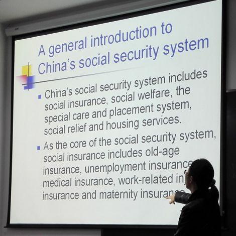 In dieser VWL Vorlesung haben wir uns mit dem Sozialversicherungssystem beschäftigt.