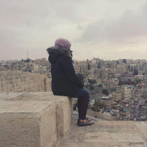 Amman von oben