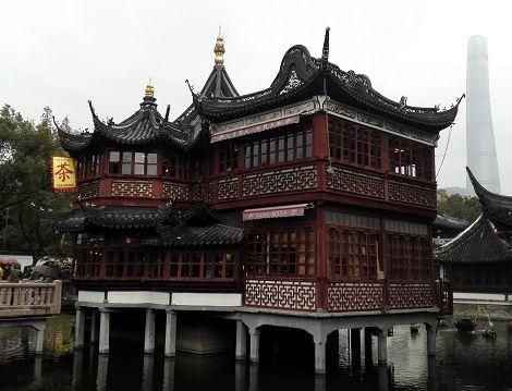 Teehaus am Wasser