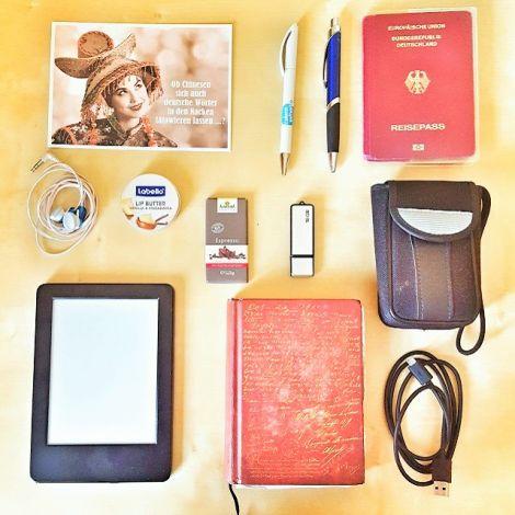 Pass, Kamera, Stifte