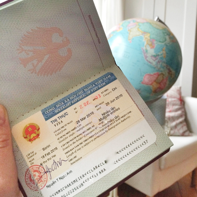 Visum für ein Praktikum in Vietnam
