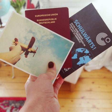 Reisepass, Schulwärts-Flyer