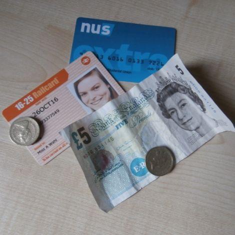 Die Railcard und die NUS-Extracard
