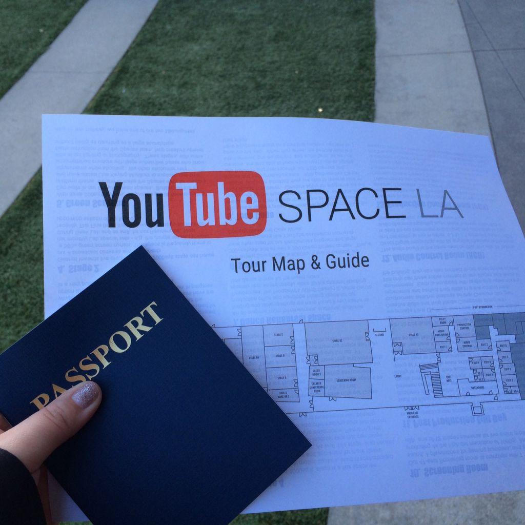 Zu Besuch bei YouTube