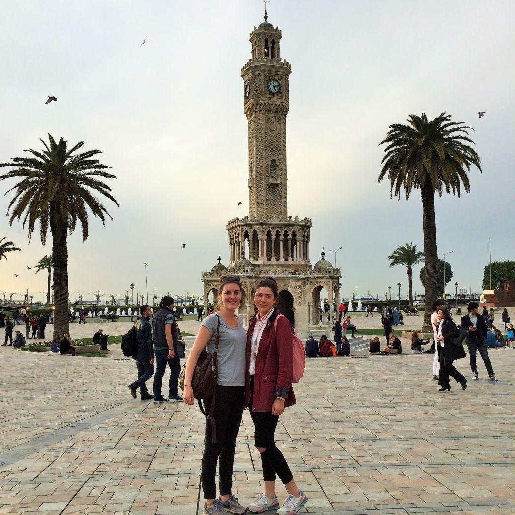 Uhrturm auf der Promenade von Izmir