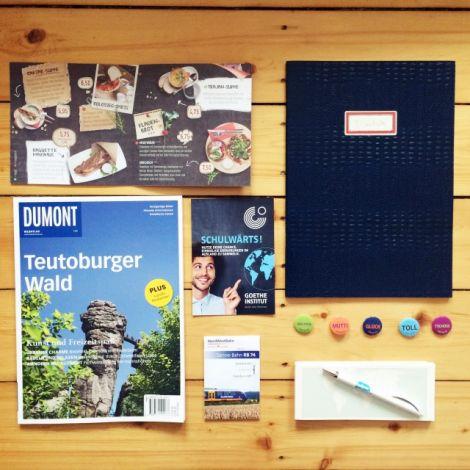 Buttons, Reisemagazin, Speisekarte