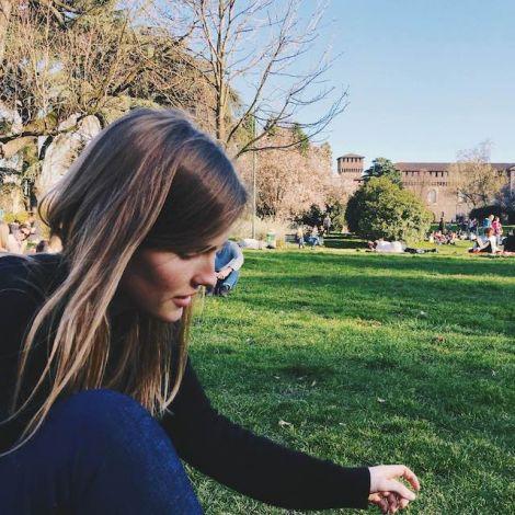 Antonia Meyer im Park