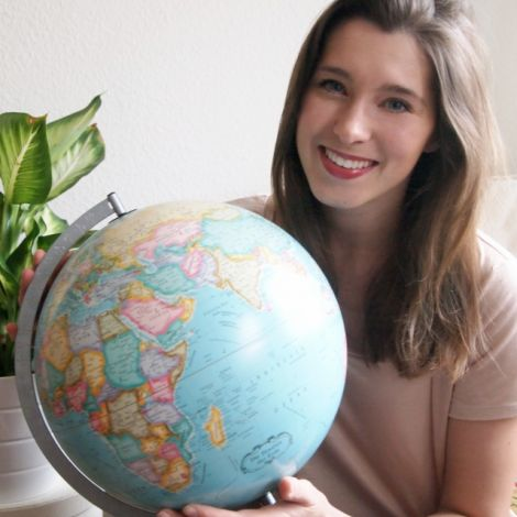 Clara Schaksmeier und Globus