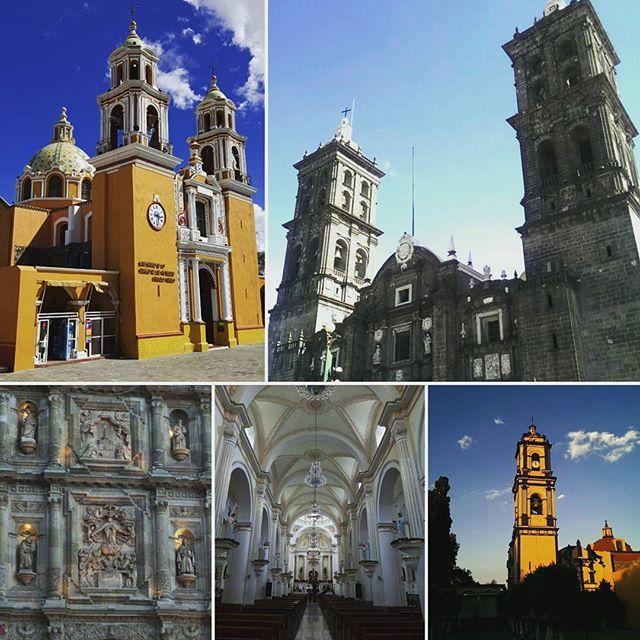 Kirchen in Puebla