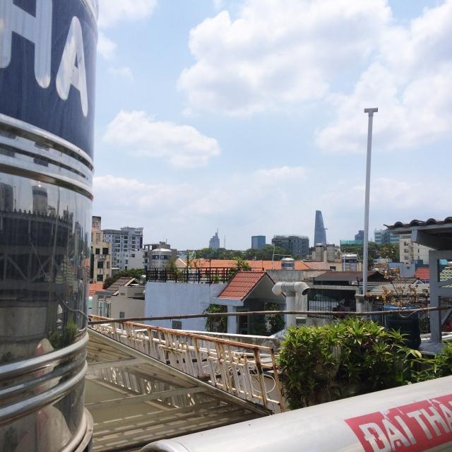 Dachterrasse Ho-Chi-Minh-Stadt