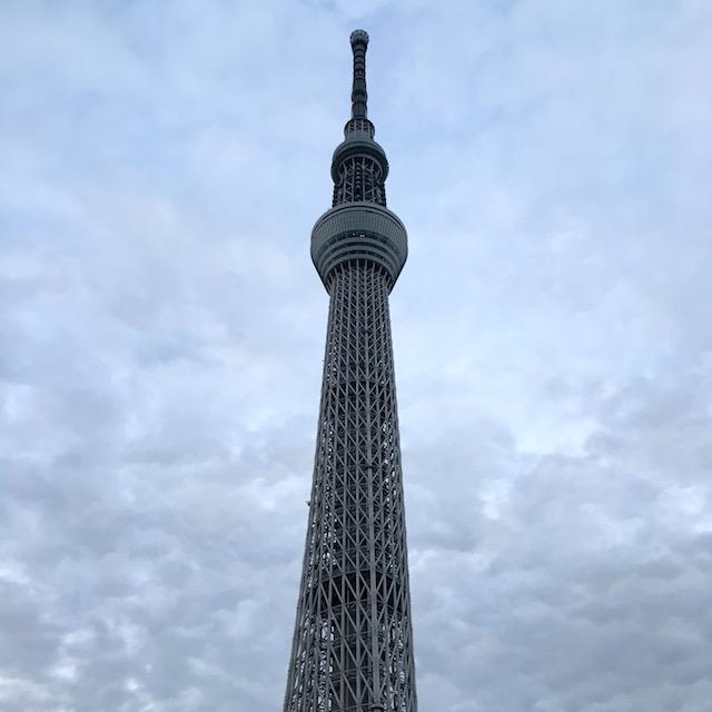 Julia, Tokio: Der Tokyo Skytree ist mit 634 Metern Höhe der höchste Fernsehturm der Welt. Die Aussichtsplattformen liegen auf 350 Metern und 450 Metern Höhe und sind nichts für Schwindelfreie!