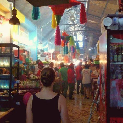 Bunter Markt in Oaxaca