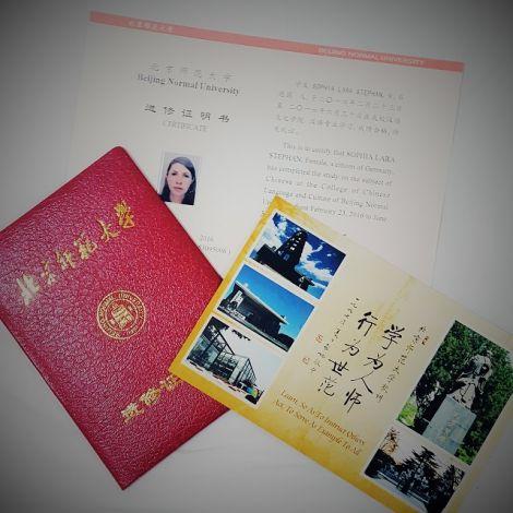 Das Abschluss-Zertifikat