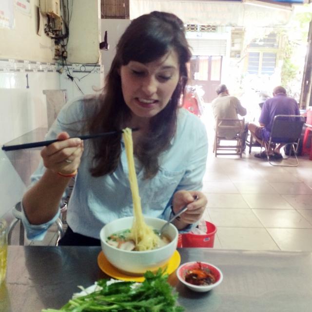 Ein Tollpatsch in Vietnam