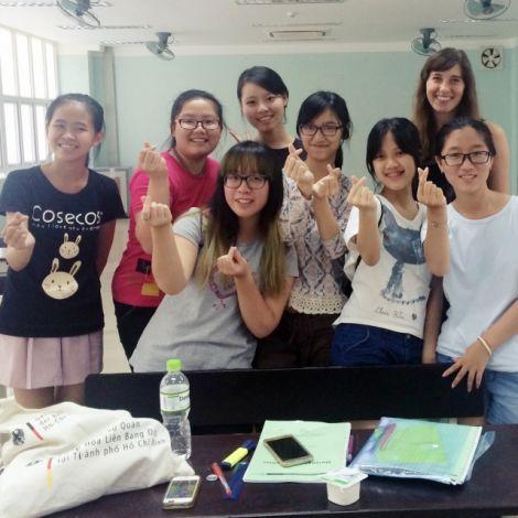 Clara und ihre Deutschklasse