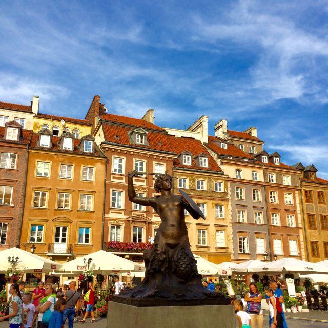 Warschauer Meerjungfrau in der Altstadt