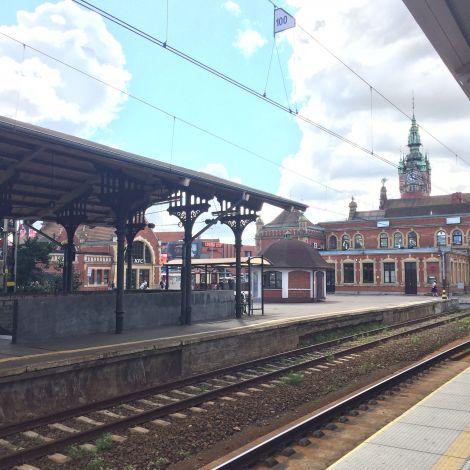 Hauptbahnhof Danzig