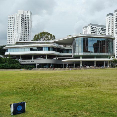 Moderne Architektur in der University-Town