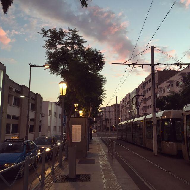 Straße in Rabat
