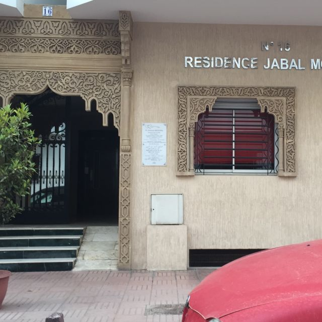 Wohngebäude in Agdal, Rabat/Marokko