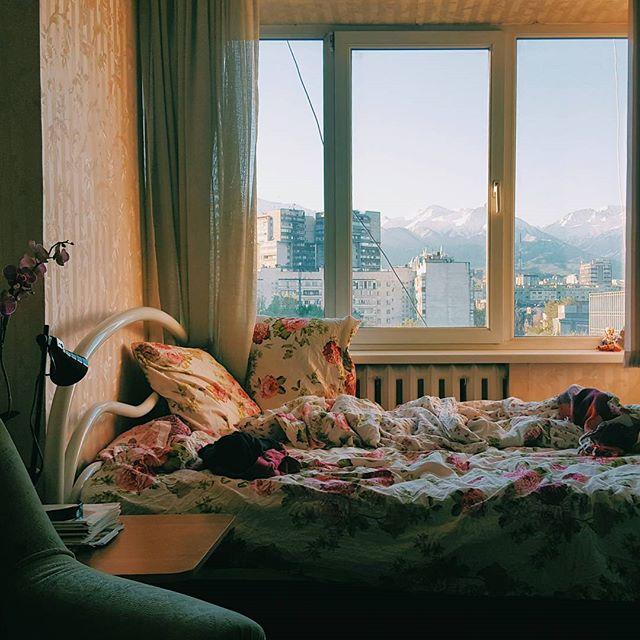Guten Morgen Almaty 🌄🤗😴