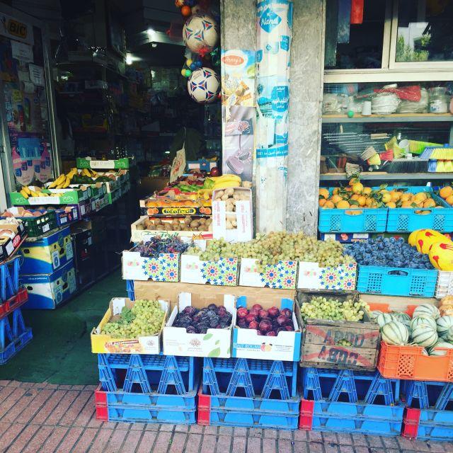 Hanout (dt. kleiner Supermarkt) im Stadtteil Agdal, Rabat/Marokko