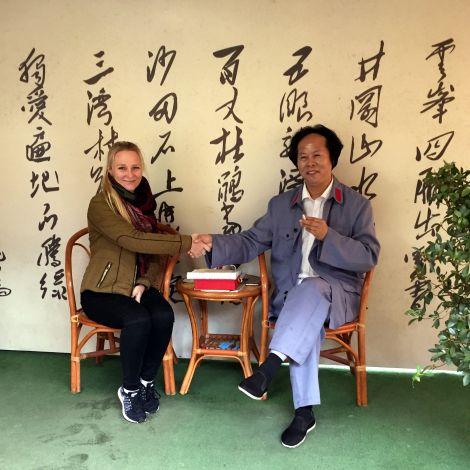Kim und Mao