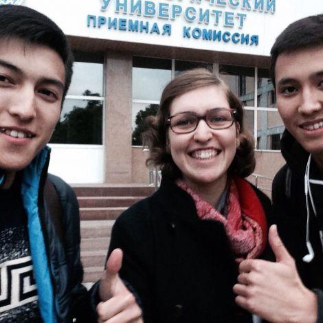 Zwei meiner motiviertesten Studenten