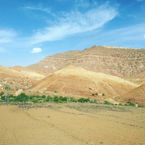 Der Rückweg von Ouarzazate nach Rabat