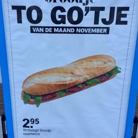 Plakat auf niederländisch