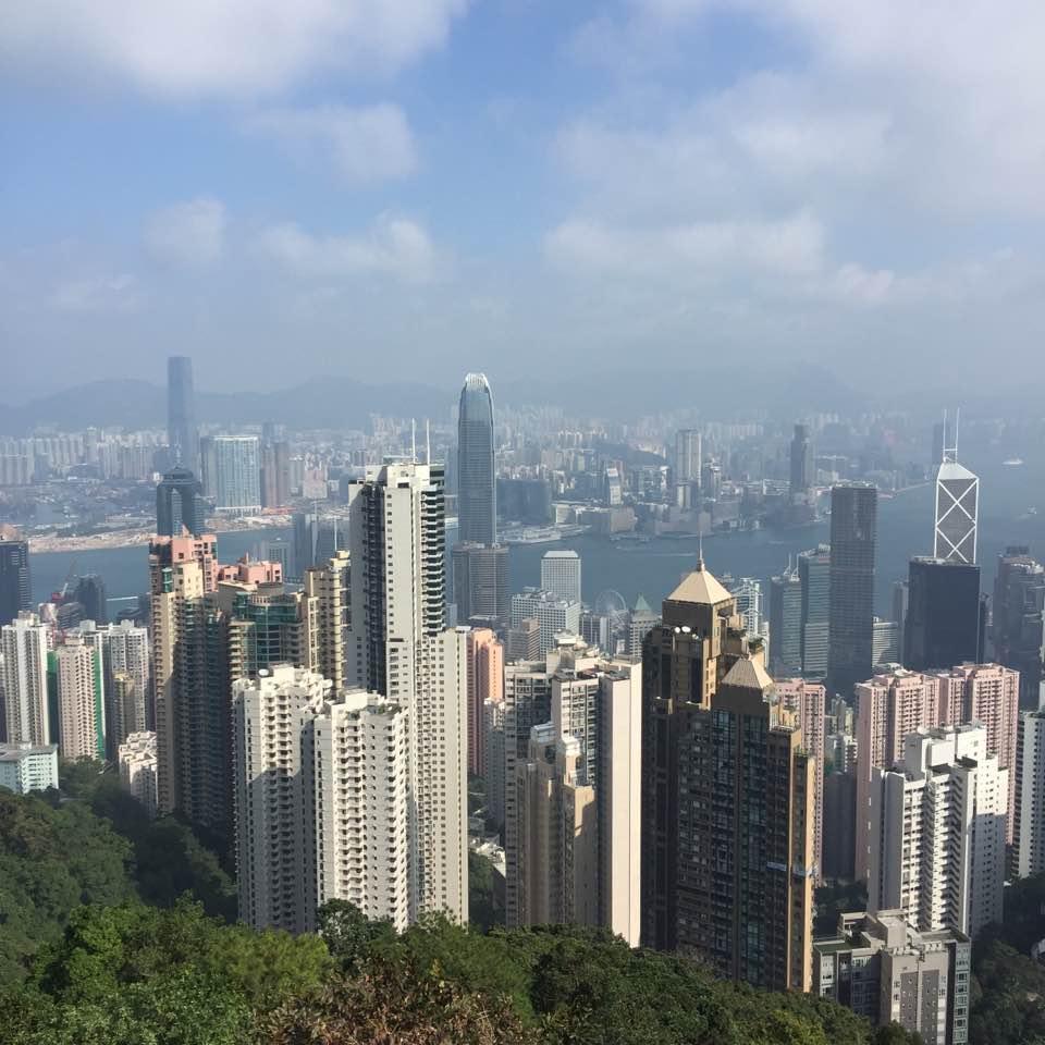 Erster Stopp: Hongkong