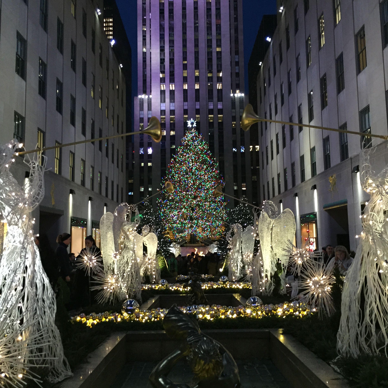 Wie lange steht der weihnachtsbaum am rockefeller center