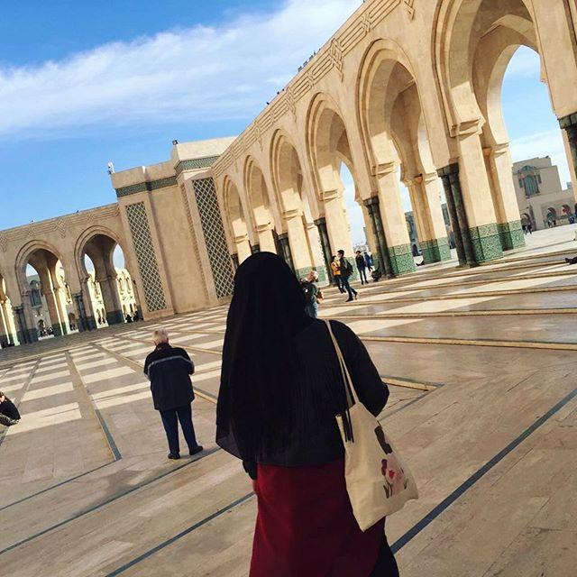 Hassan-II.-Moschee in Casablanca
