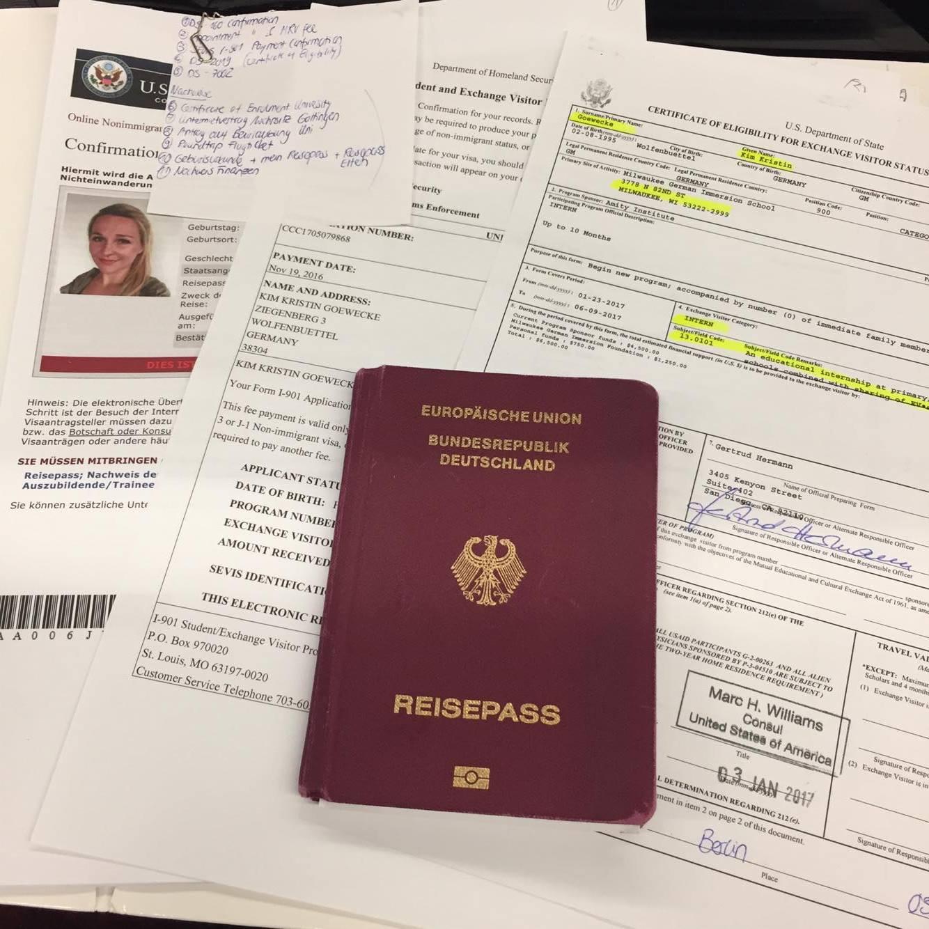 Us Visum Keine Panik Vor Dem Interviewpraktikum Studieren Weltweit