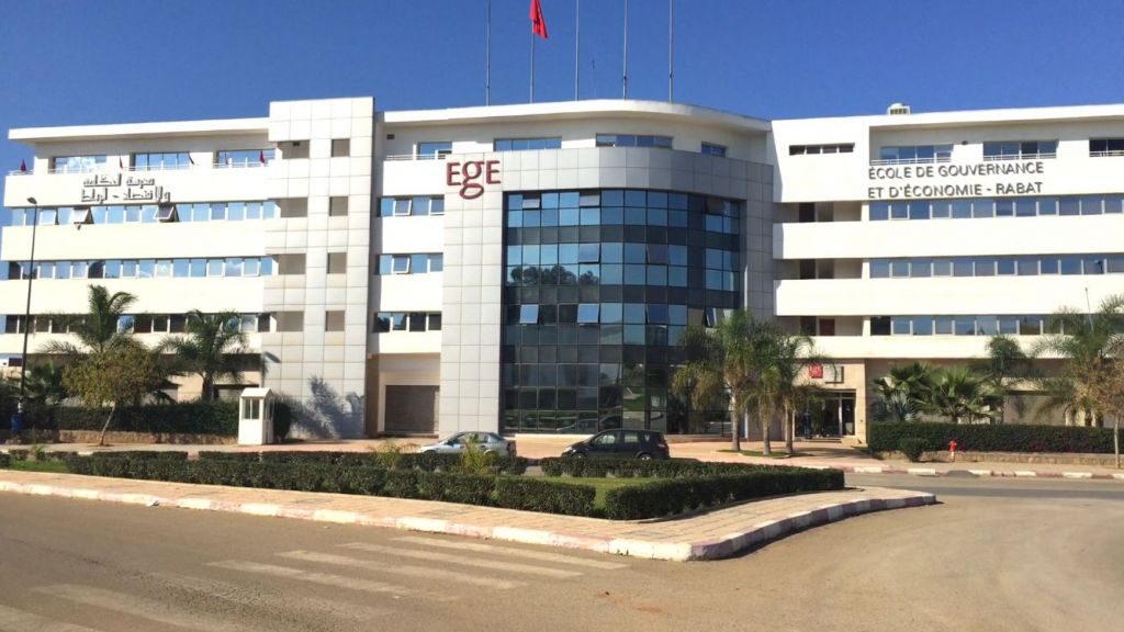 Gebäude der École de Gouvernance et d'Economie