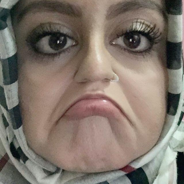 Sümeyye mit Snapchat-Filter