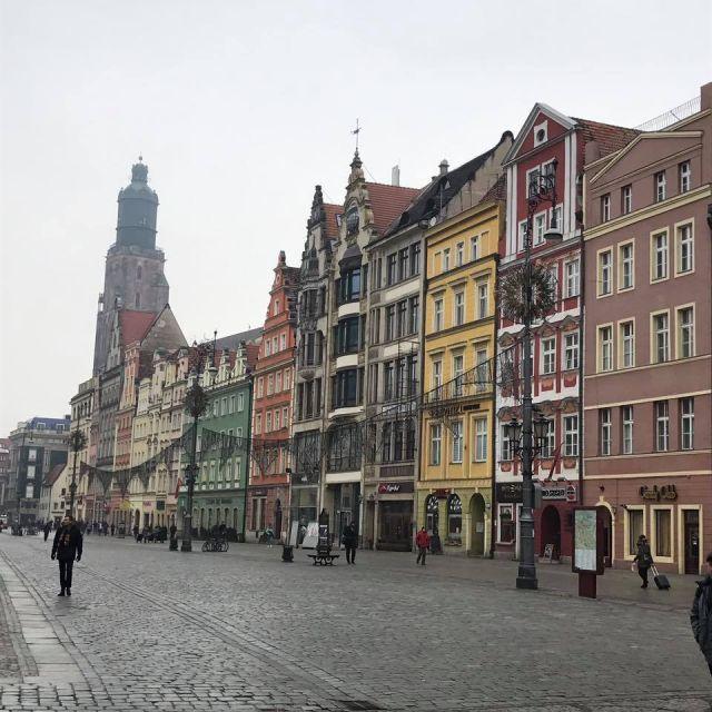 Rynek mit bunter Häuserfassade