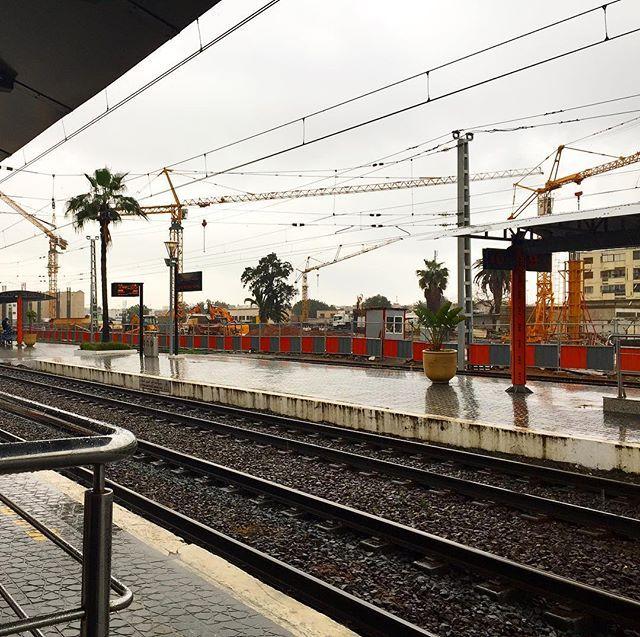 Bahnhof Rabat, Agdal, Marokko