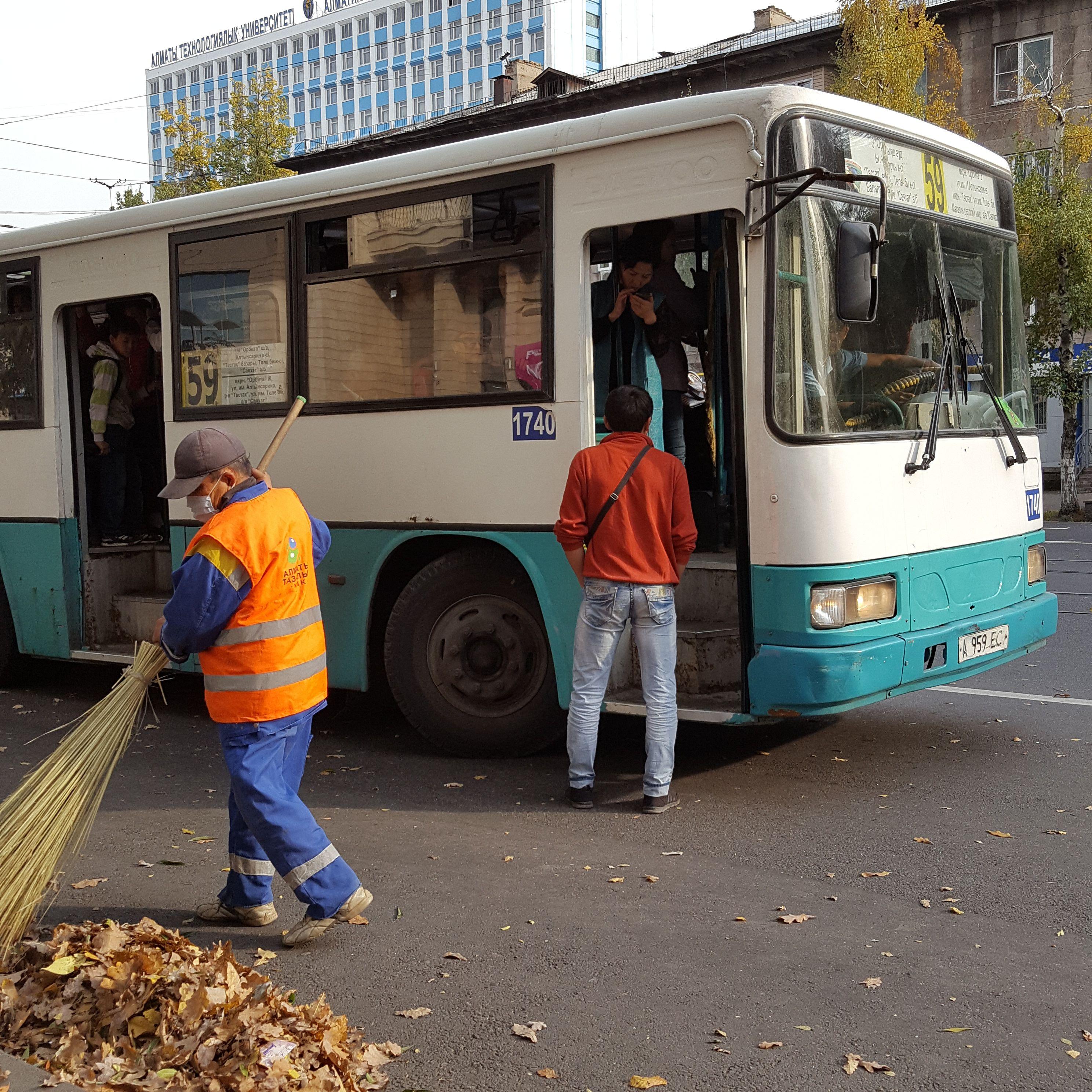 6 Monate in Almaty: endlich angekommen