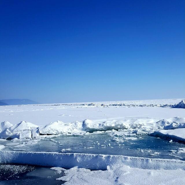 Eis Baikalsee