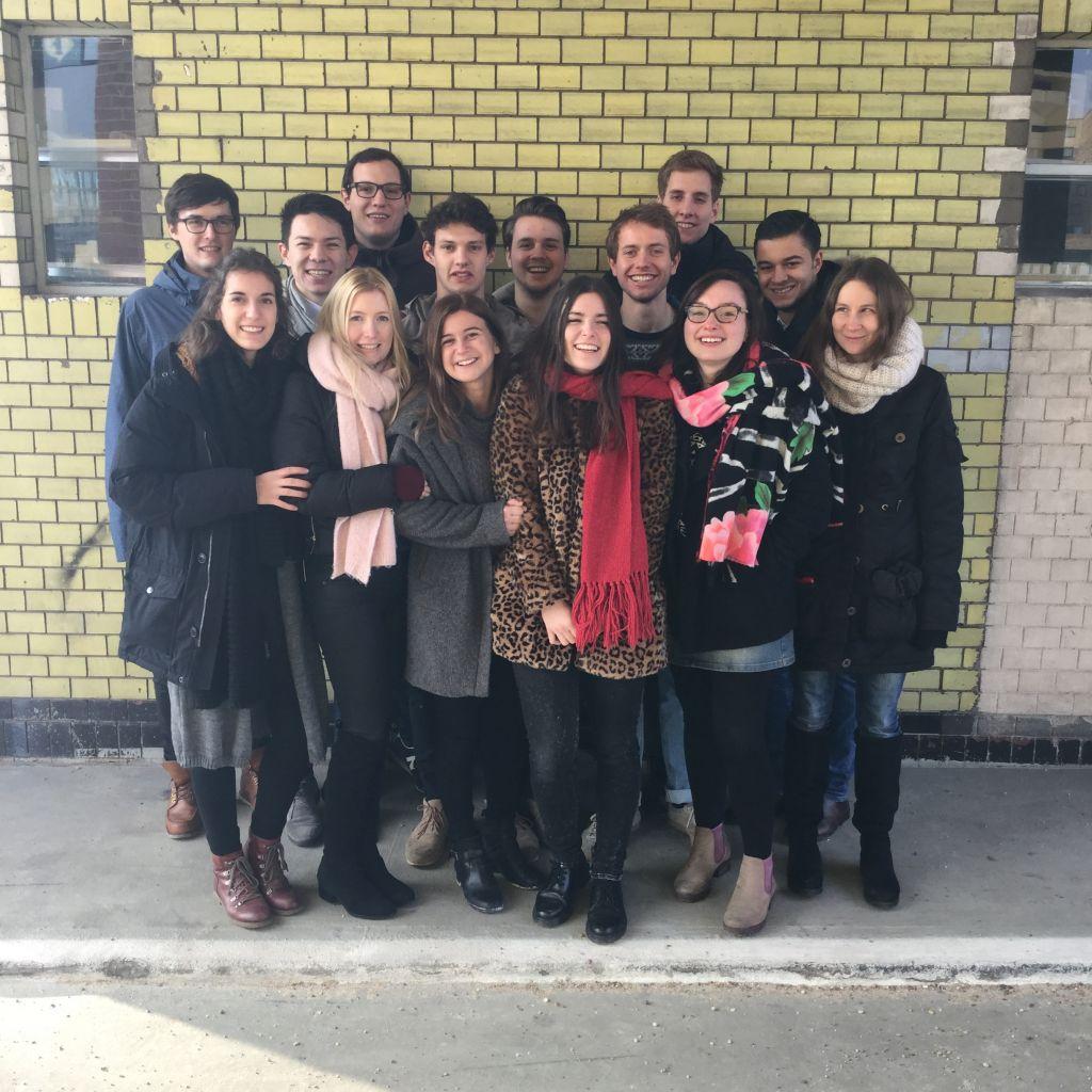 Gruppenfoto Correspondents-Workshop