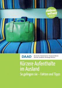 Cover Broschüre Kürzere Aufenthalte