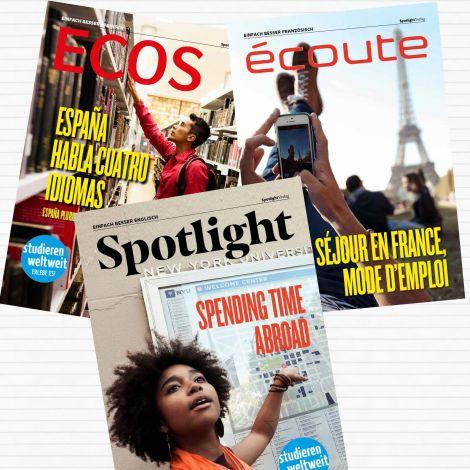 Cover Spotlight Englisch Französisch Spanisch