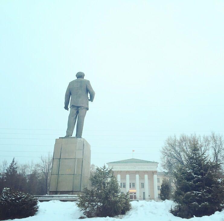 Skrjabin-Statue Uni