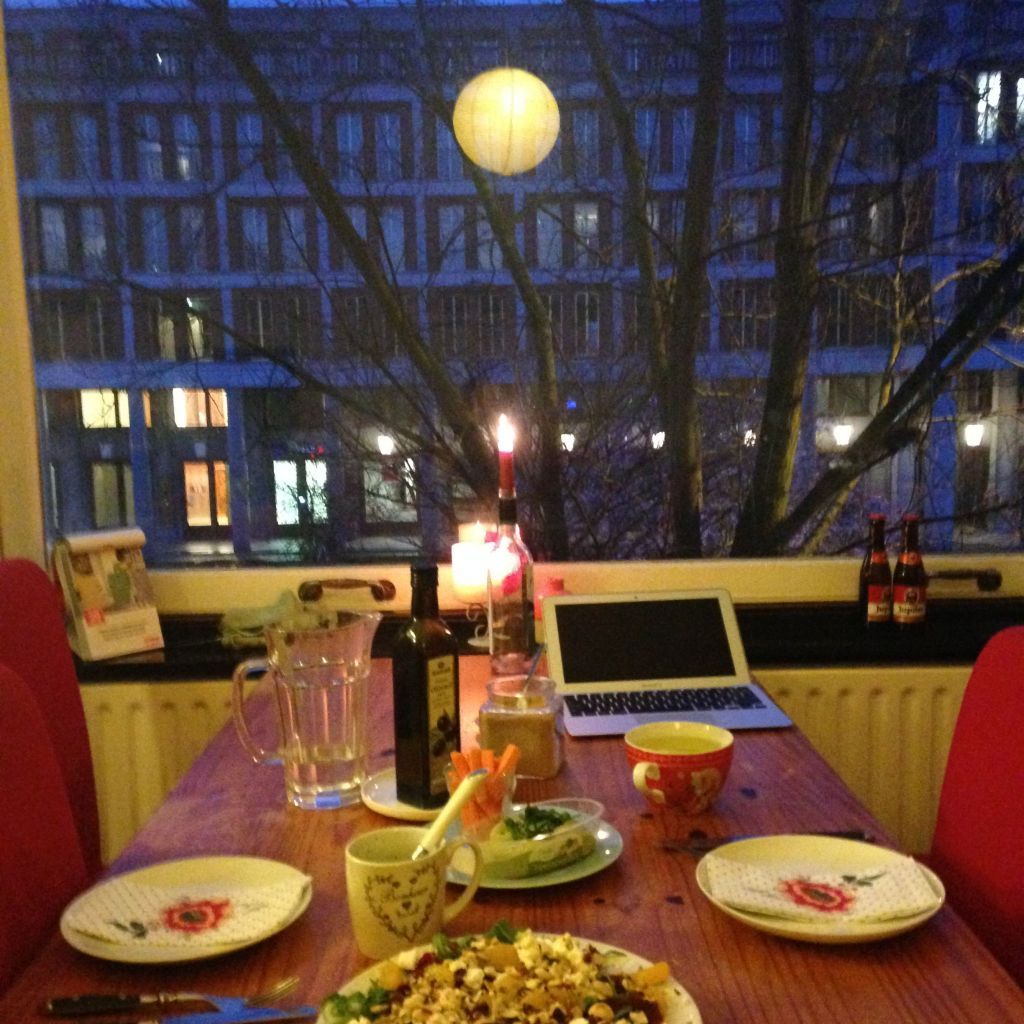 Wohnung in Wageningen, Blick aus dem Fenster
