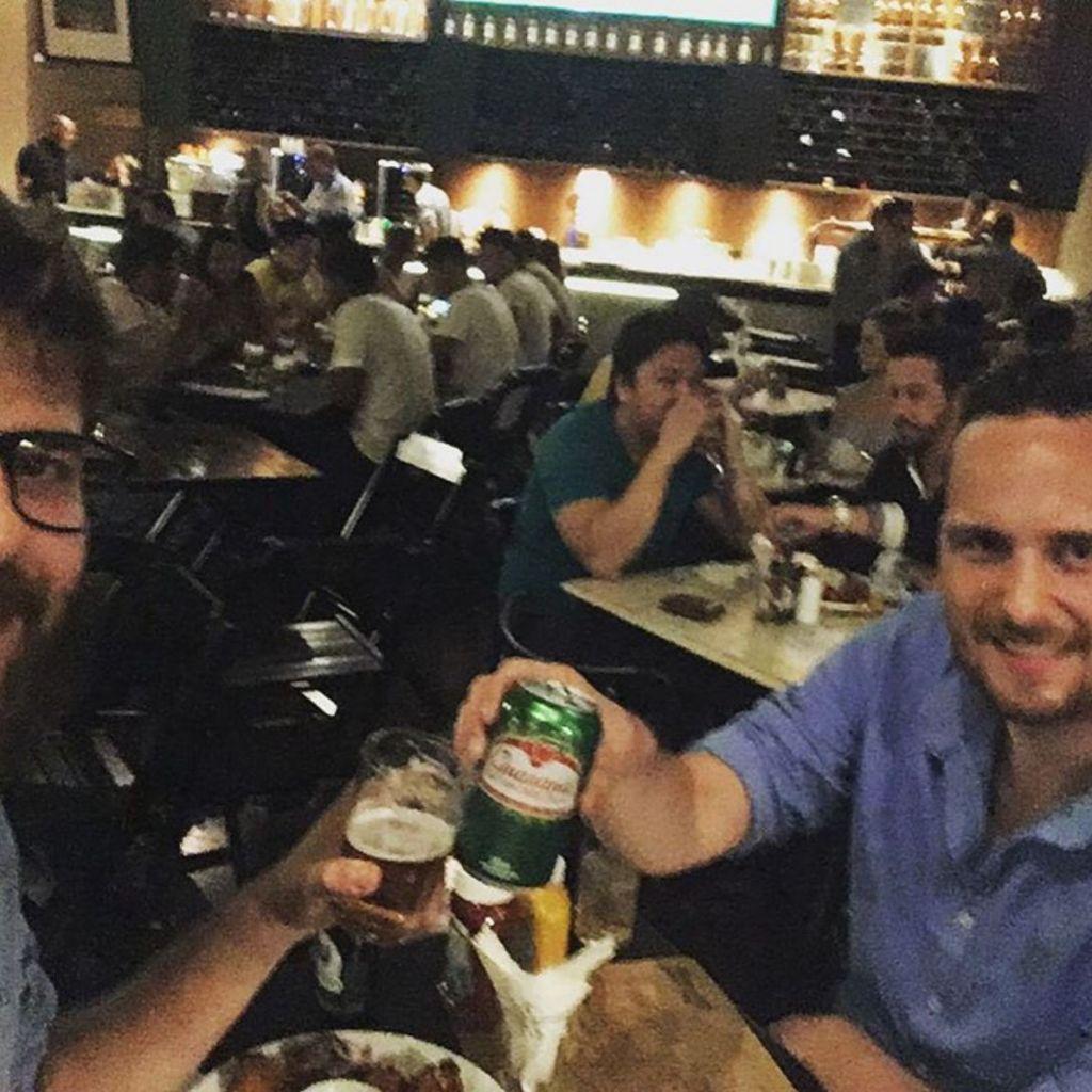 Jonathan, Feierabend, Brasilien