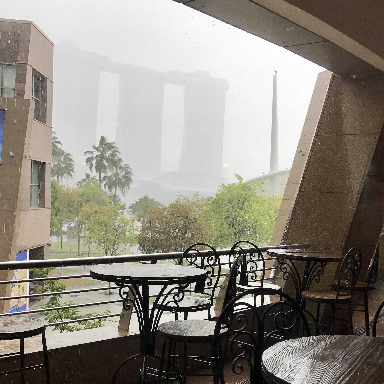 regen, Singapur,